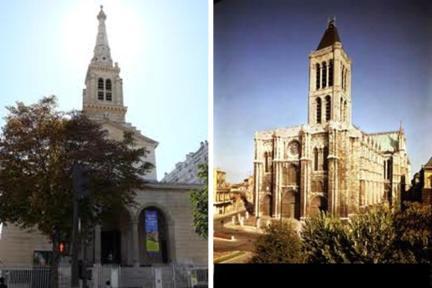 L'Église St. Jean Baptiste e Basilique St. Denis